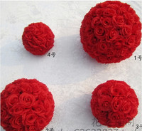Wholesale Brand new cm Simulation of high quality encryption rose flowers ball for the New Year festive wedding decorations bouquet p