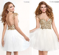 Gold And White Cocktail Dresses – images free download