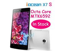 iOcean X7 X7S Smartphone MTK6592 Octa Core 1.5GHz 5.0 pulgadas Android 4.2 WCDMA 3G GSM FHD Full HD 2GB 2G RAM 16GB 13.0MP cámara