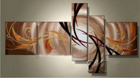 Cheap More Panel Handpainted Best Oil Painting Abstract Canvas