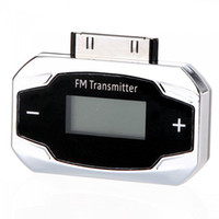 For iPhone   Mini LCD Remote Control Car FM Transmitter Hands Free for iPod iPhone 3G 3GS 4G 4GS