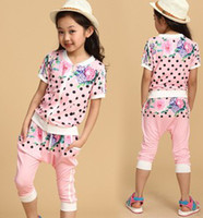 2014 New Arrival Big Children's Flowers Printed Dots Trainin...