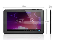 Wholesale Allwinner A23 inch tablet pc Dual core Android Dual camera MB ram GB rom colorful
