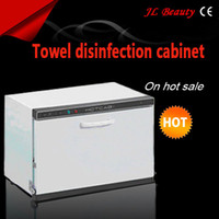 Wholesale Hot towel warmer Towel Shelf and Sterilization Sanitizer beauty equipment UV towel warmer sterilizer towel warmer sterilizer Towel warmer