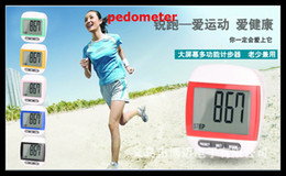 Wholesale Multifunction Calorie Pedometer Count Steps Digital Step Counter Step Tracker Treadmill Activity Tracker