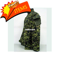 Wholesale Cadpat SWAT Digital Camo Woodland BDU Uniform Set shirt pants free ship