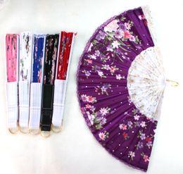 Wholesale - New 10 pcs Chinese Folding Fan Art HAND FAN Wedding Party Gift