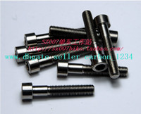 Wholesale 2 M7 x mm ti titanium Seatpost Bolts Screws Seat Post Bolt