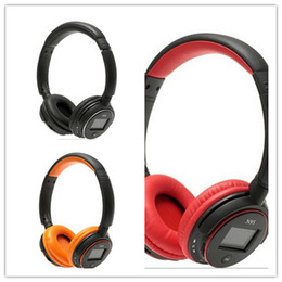 Wholesale The latest head mounted card MP3 wireless card FM headsets have the functions of recording straight record and support the game