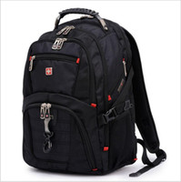 military backpack - swiss army knife backpack military quot laptop bag swissgear backpack men women travel bag school bags computer bags