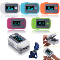 pulse oximeter - OLED Fingertip Pulse Oximeter with Audio Alarm Pulse Sound SPo2 Monitor Pulsoximeter