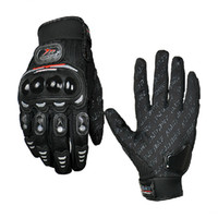 Wholesale Anti slip Motorcycle Racing Gloves Auto Leather Waterproof Gloves Protective Travel Supplies SH363