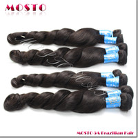 Loose Wave 30 inch brazilian hair - DHL Brazilian hair Human hair extensions Natural color Loose wave A bundles inches MOSTO HAIR FACTORY