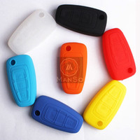 Wholesale Manso For Ford Kuga Focus Ecosport Silicone Car Key Cover Remote Cover Auto Accessories