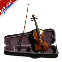 Wholesale JY E800 genuine gold tone matte wood entry for beginners to practice the violin school Rates