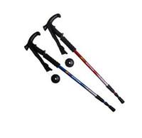 Trekking Poles Plastic / Foam 0.5 to 0.75 Hot Sale Outdoor Walking Stick Aluminum Three Curved Trekking Poles Handle Poles Outdoor Gear