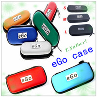 Wholesale Hotsale ego bag colorful ego carrying case ecig case with ego logo different size for options