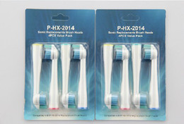 Wholesale Electric Toothbrush Rechargeable Heads Toothbrush Heads HX2014 Sonic Replacements Brush Heads set sets