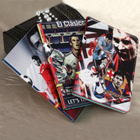 100pcs Football star PU Leather Tablet Case with Cover Stand...