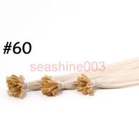 #60 best body tips - Best Hair quot quot Flat Tip Nail U Tip V Tip Hair Extensions Color l100 Brazilian Virgin Hair Silky Straight Hair g piece Grade AAAAA
