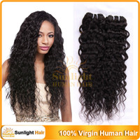 Wholesale 15 OFF On Sale Brazilian Kinky Curly Hair Weaves Virgin Remy Human Hair Extensions Natural Black B Hair Extension