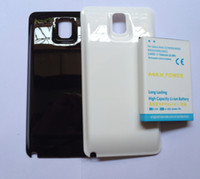 For Samsung   High Capacity 7500mah 3.8V Thickening battery with the back case for Cell Phone Samsung Galaxy NOTE3 NOTE III N9000 N9005 N900A N9002