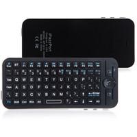 iPazzPort Bluetooth mini tastiera wireless Fly Air mouse a distanza con la cassa per Apple TV Box C1786