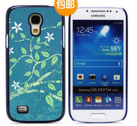 For Samsung Plastic White S4 mini DIY sublimation blanks Hard plastic case for Samsung Galaxy S4 mini i9190 DHL Fedex free 100pcs lot