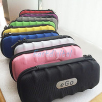 Wholesale Ego case ego leather bag electronic cigarette carry bag colors with Zipper New material great quality Newest