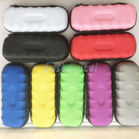 Wholesale Ego case ego leather bag electronic cigarette carry bag colors with Zipper New material great quality DHL