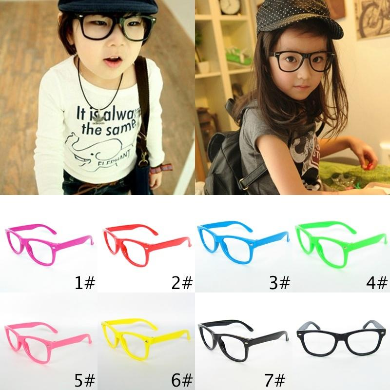2017 top selling classical kids glasses frame children beach sunglasses frame candy colors frame without lenses children glasses glasss frame eyewear online