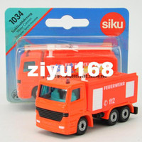 5-7 Years Car Metal free shipping 3 piece Siku card water fire truck alloy car model toy