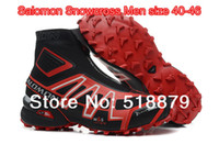 Wholesale Salomon Hiking Boots Shoes Waterproof Men Walking and Trail Running Shoes High Top Dropshipping Colors Size