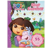 Wholesale Dora child game book star catcher