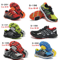 2014 Hot New Men's Zapatillas Salomon XR MISSION Athletic Ru...