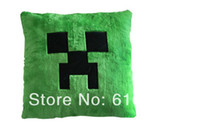 Wholesale Minecraft Pillow Creeper pillow Cushion Bolster Good Quality in stock Same Day Shipping