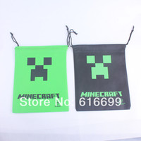 Wholesale Minecraft bag Draw String Bag Gift bag Good Quality cm x cm in stock
