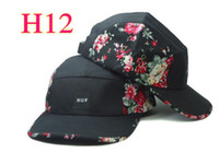 Ball Cap   Can choose Spring & Fall Free Light Floral Snapback Hats 40 colors HUF 5 PANEL hats and caps adjustable snapbacks Super Hot