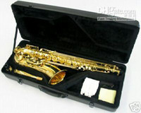 Wholesale EMS New Gild Tenor Saxophone Sax With Case