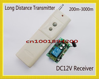 Wholesale Radio Remote Control Switch V DC CH Relay Receiver Transmitter Long Range m farm Power Remote ON OFF Long Range Remote Switch