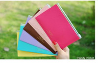 Wholesale Korean fashion color leather stretching bag of candy color bag paper bag pieces