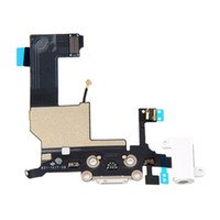 Wholesale IPHONE WHITE LIGHTNING DOCK HEADPHONE JACK CONNECTOR FLEX CABLE Free HONGKONG POST CHINA POST Shipping