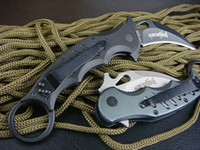 Wholesale 2014 Best karambit FOX claw knife folding fixed hunting HRC Thickness outdoor survival knife