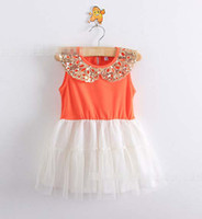 New Arrival Girl Dresses Summer Baby Sequins Tutu Dress Kids...