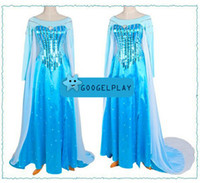 2014 Hotsale Children Girls Frozen Girl Elsa Carton Dress Co...
