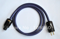 Yes Home Appliance IEC XLO Reference 2 AC Power Cord with Oyaide P079E C079 power cable 1.5M new condition HIFI DIY