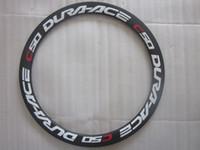 Cheap DURA-ACE WH-7900-C50-CL clincher 3K matte road bicycle wheels Novatec A271SB F372SB black Pillar 1432 black spokes nipples black 20 24H