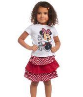 Cheap Girl children clothing sets Best Summer Short kids lovely minnie suits