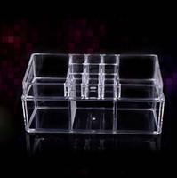 plastic drawer storage box - On Sales Acrylic Cosmetic Clear Organizer lipstick brush makeup organizer with drawer Storage Boxes