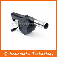 Wholesale Barbecue Fan BBQ Air Blower Hand Crank